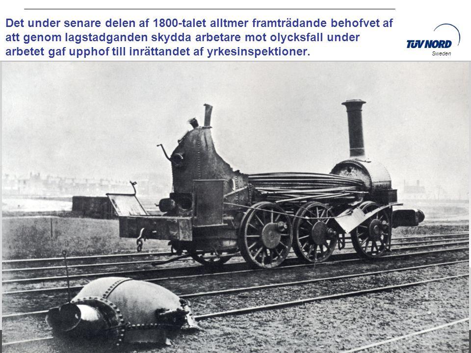 Det under senare delen af 1800-talet alltmer framträdande behofvet af att genom lagstadganden skydda arbetare mot olycksfall under arbetet gaf upphof till inrättandet af yrkesinspektioner.