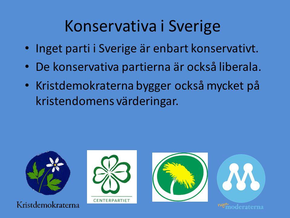 Konservativa i Sverige