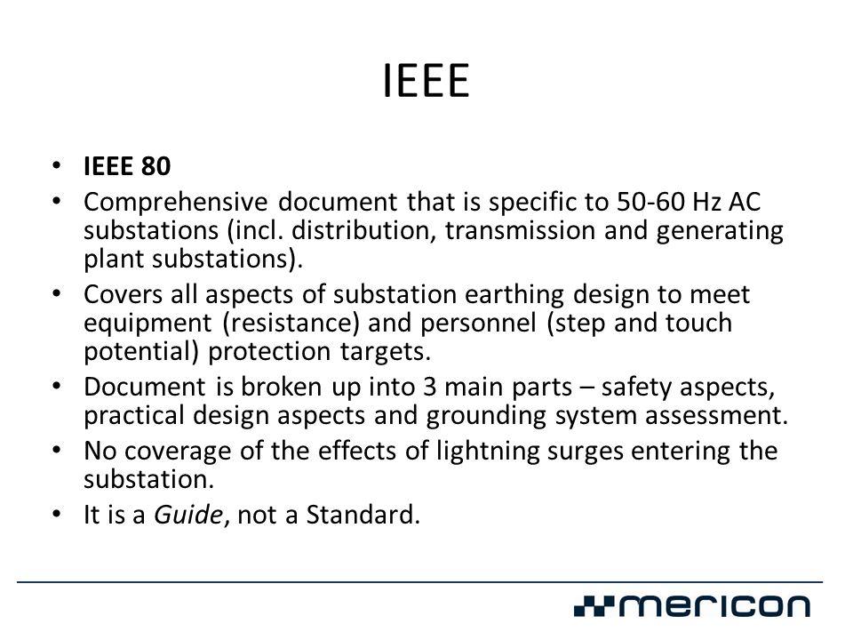 IEEE IEEE 80.