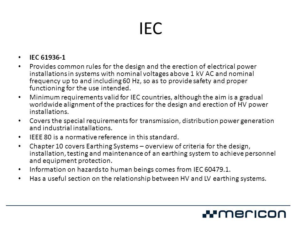IEC IEC 61936-1.