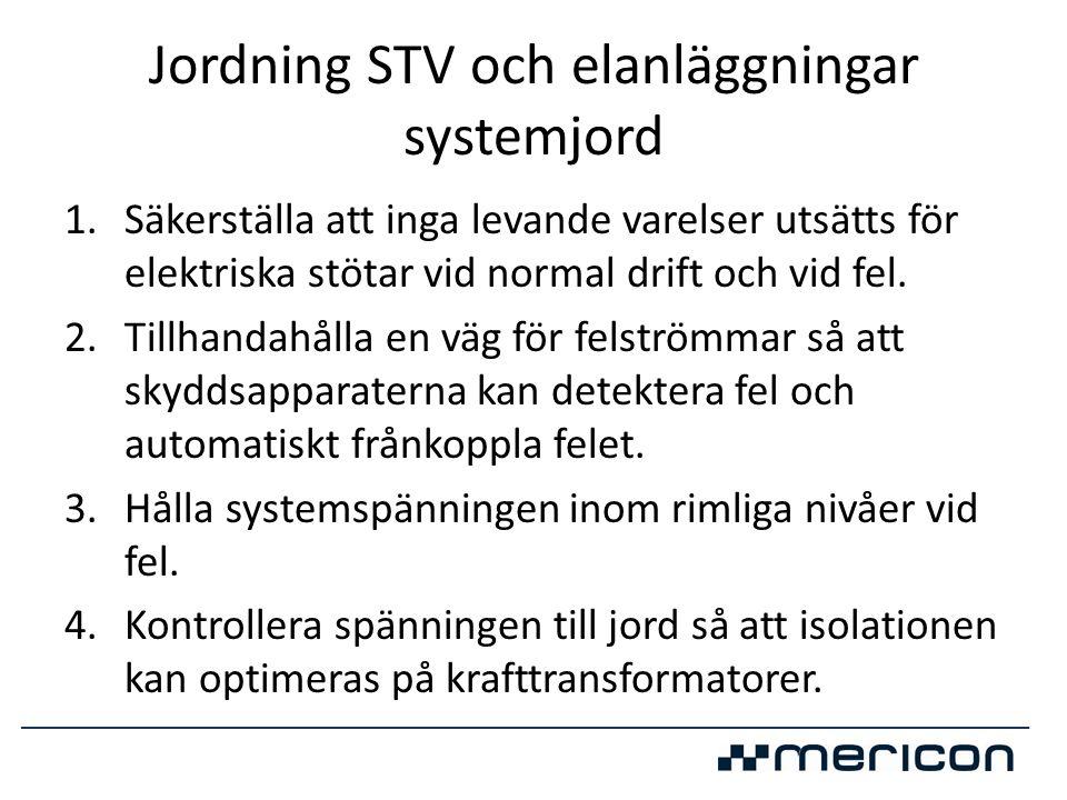 Jordning STV och elanläggningar systemjord