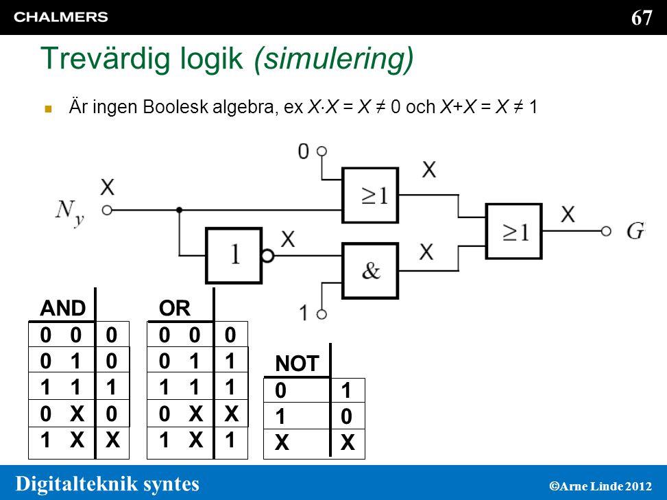 Trevärdig logik (simulering)