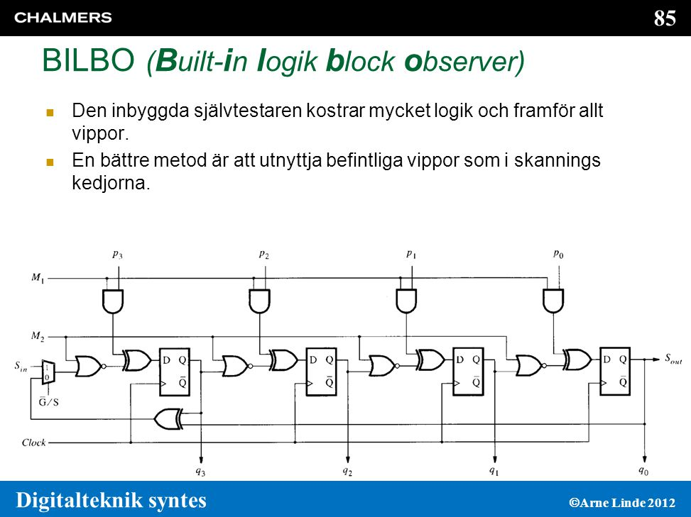 BILBO (Built-in logik block observer)