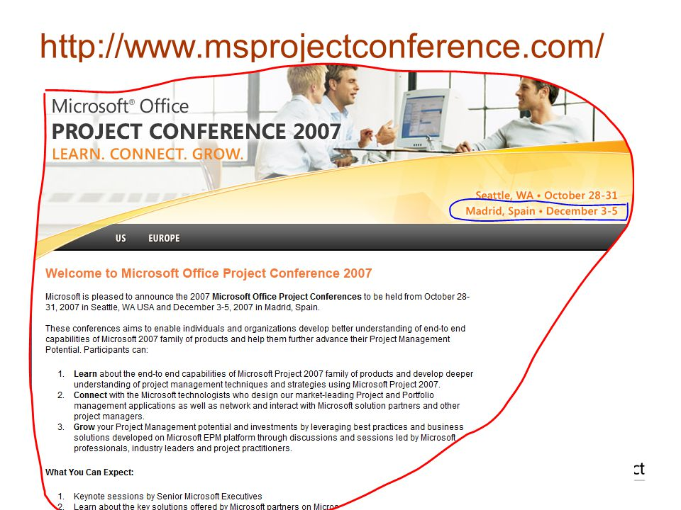 http://www.msprojectconference.com/