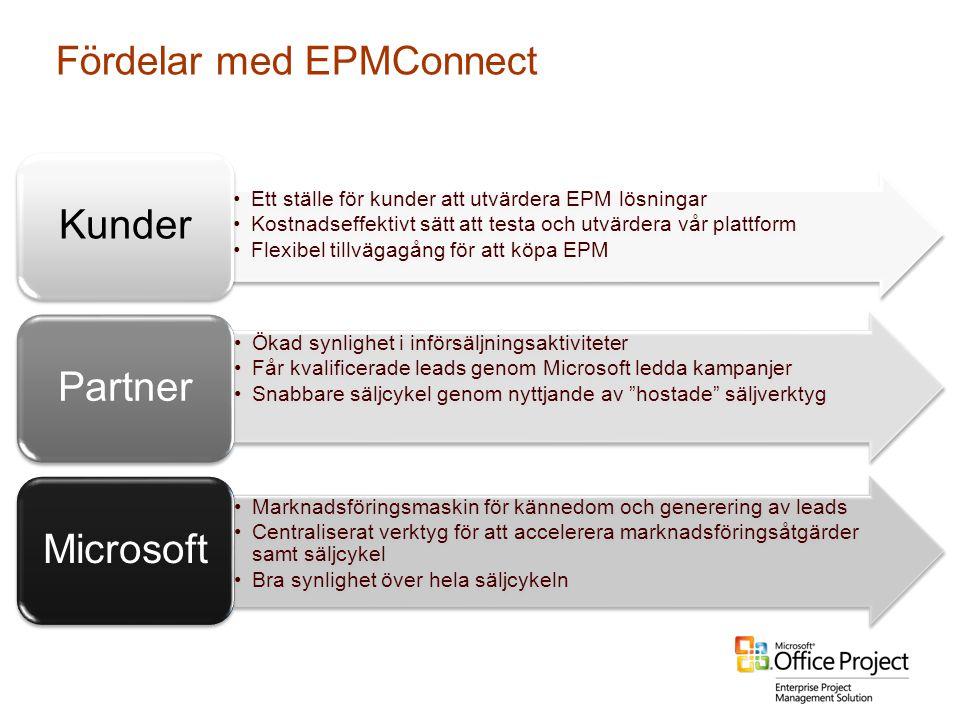 Fördelar med EPMConnect