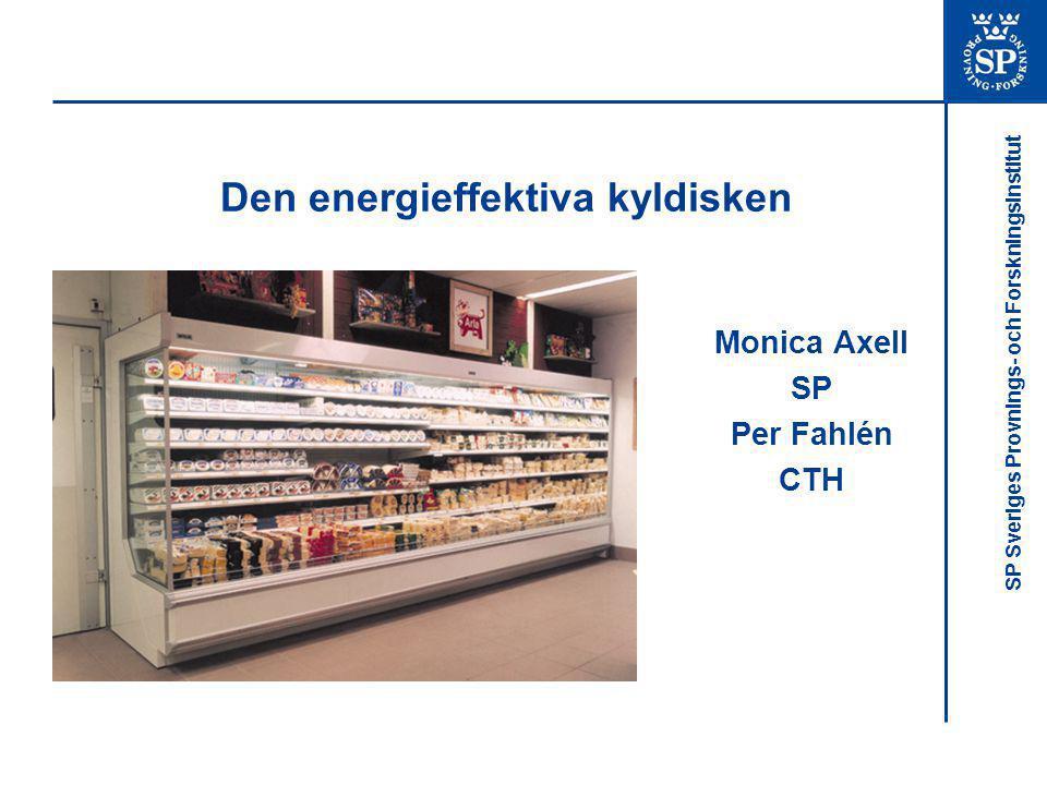 Den energieffektiva kyldisken