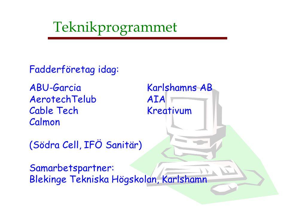Teknikprogrammet Fadderföretag idag: ABU-Garcia Karlshamns AB