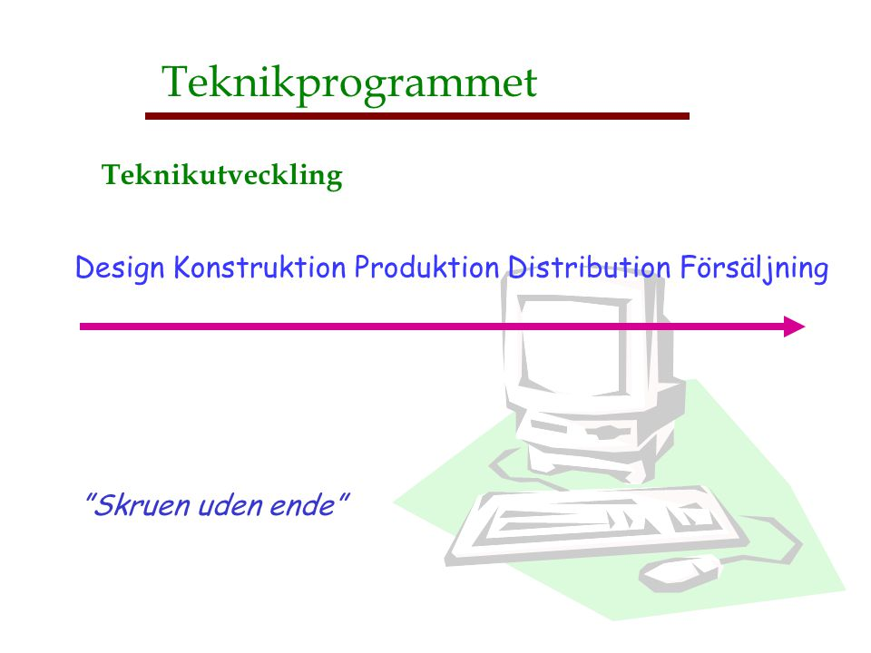 Teknikprogrammet Teknikutveckling