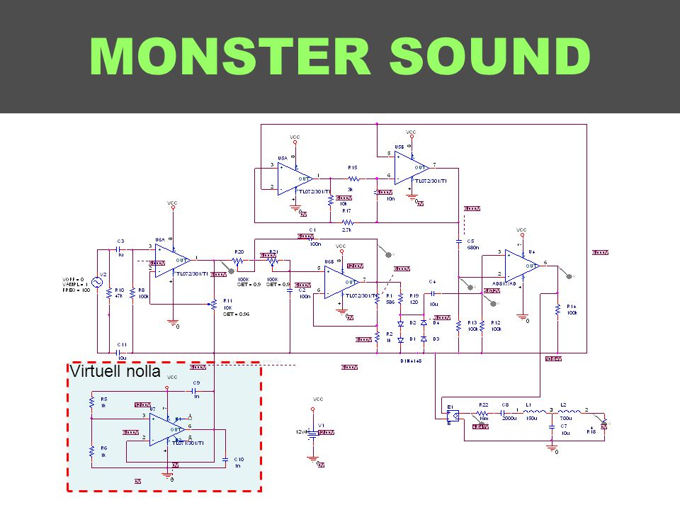 MONSTER SOUND Virtuell nolla