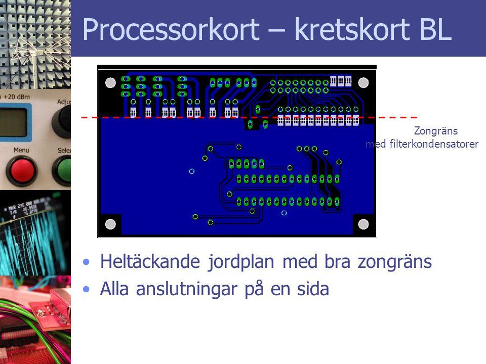 Processorkort – kretskort BL