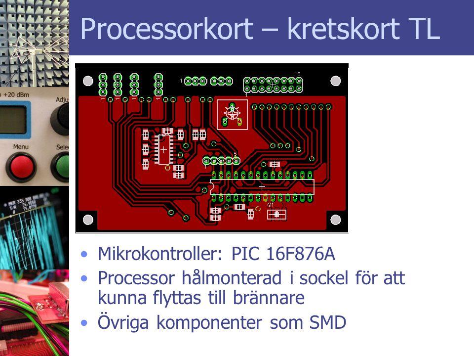 Processorkort – kretskort TL