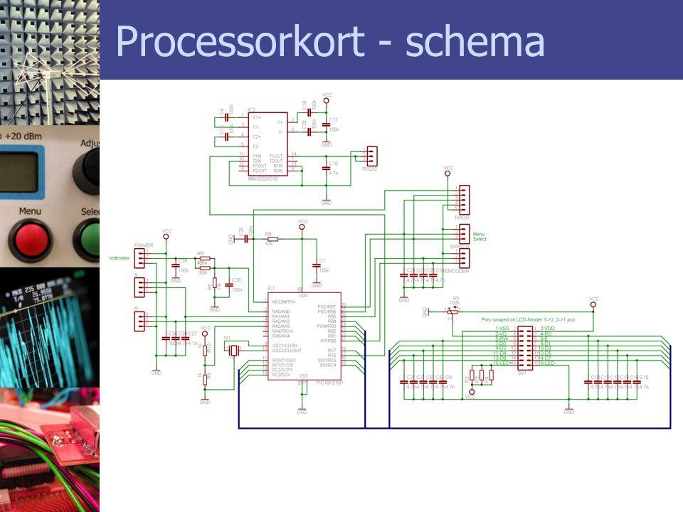 Processorkort - schema