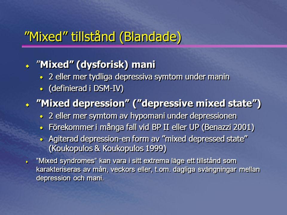 Mixed tillstånd (Blandade)