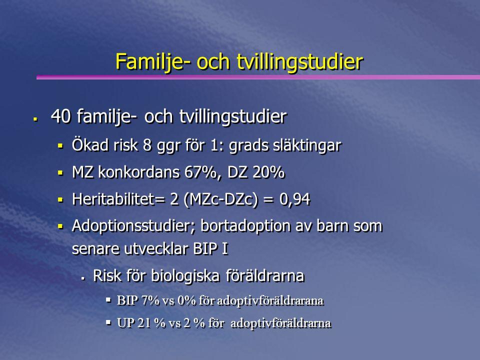 Familje- och tvillingstudier