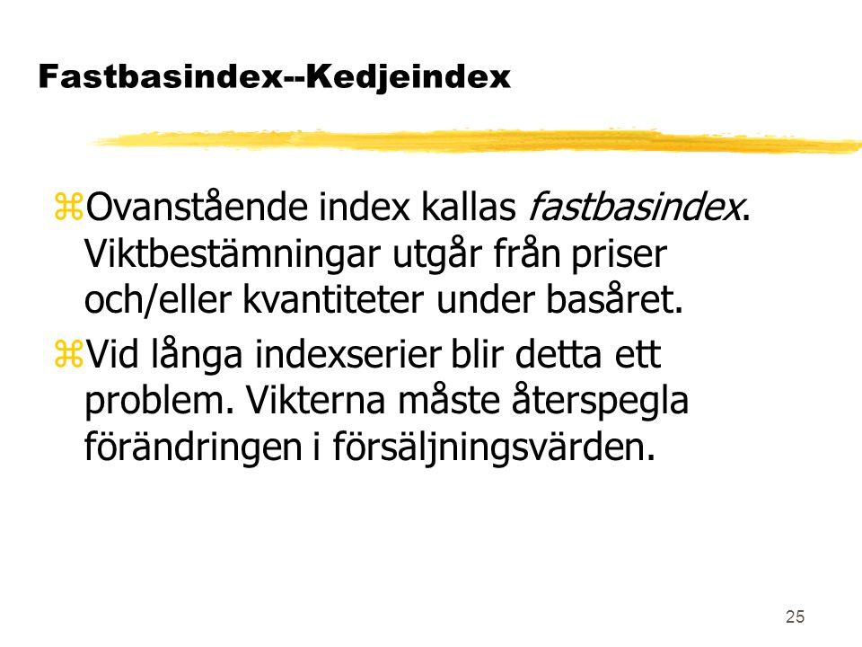 Fastbasindex--Kedjeindex