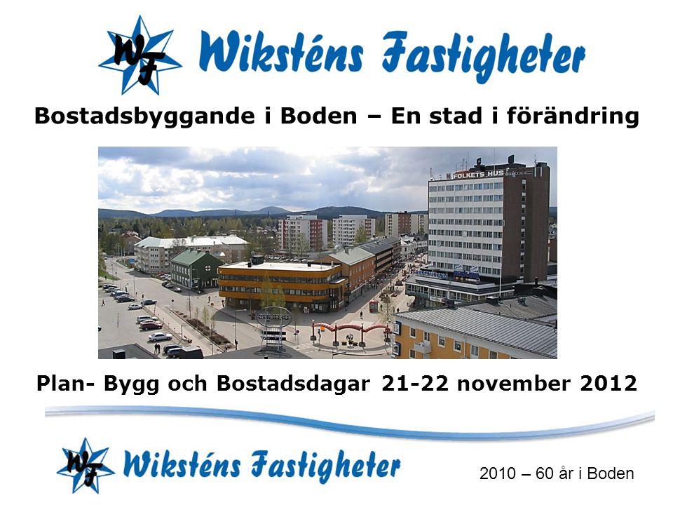 Plan- Bygg och Bostadsdagar 21-22 november 2012