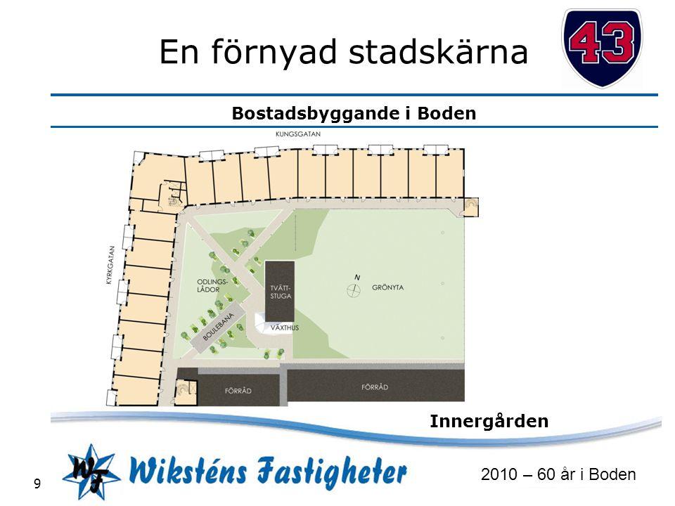 En förnyad stadskärna Innergården