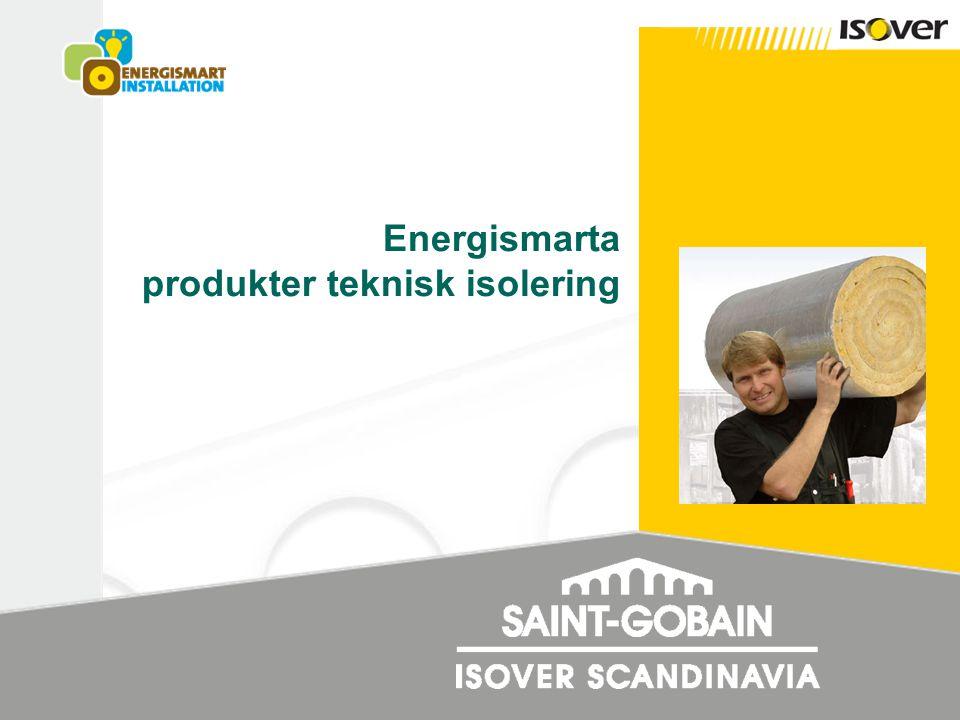 Energismarta produkter teknisk isolering