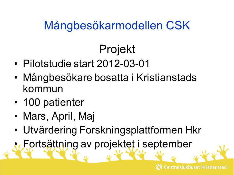 Mångbesökarmodellen CSK