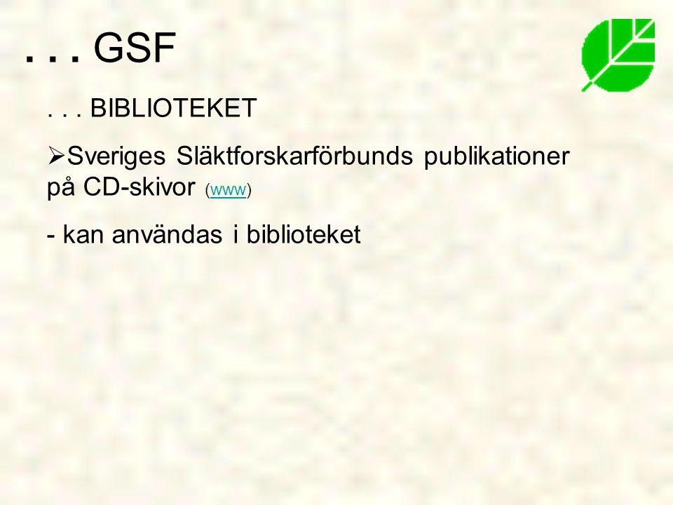 GSF . BIBLIOTEKET.