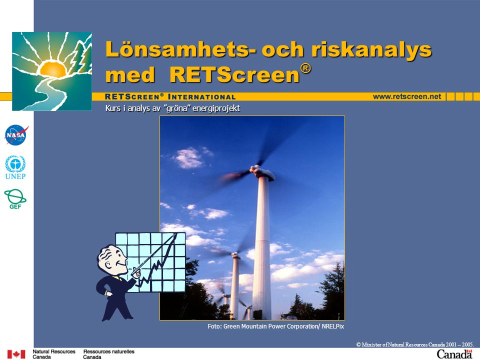 Kurs i analys av gröna energiprojekt