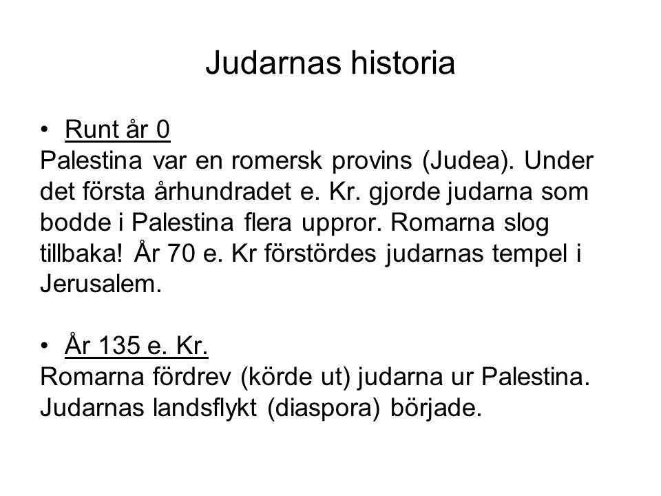 Judarnas historia Runt år 0