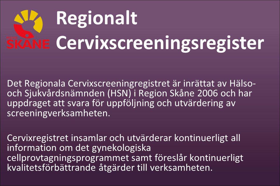 Cervixscreeningsregister
