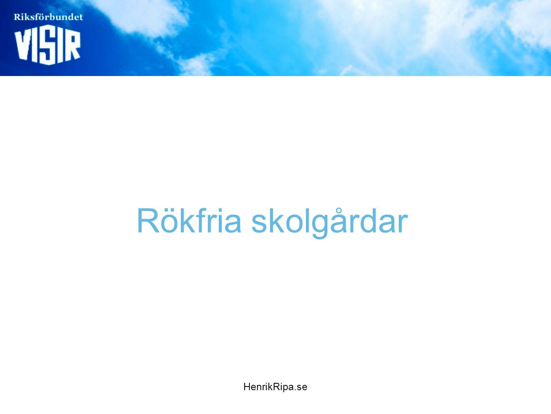 Rökfria skolgårdar HenrikRipa.se