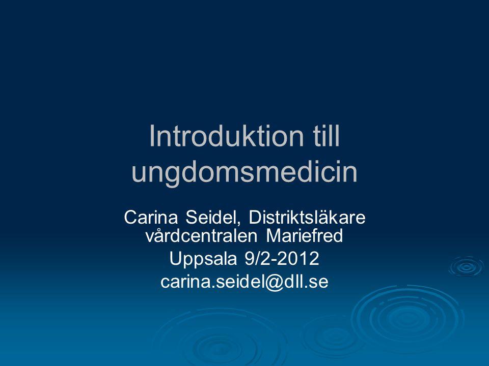 Introduktion till ungdomsmedicin