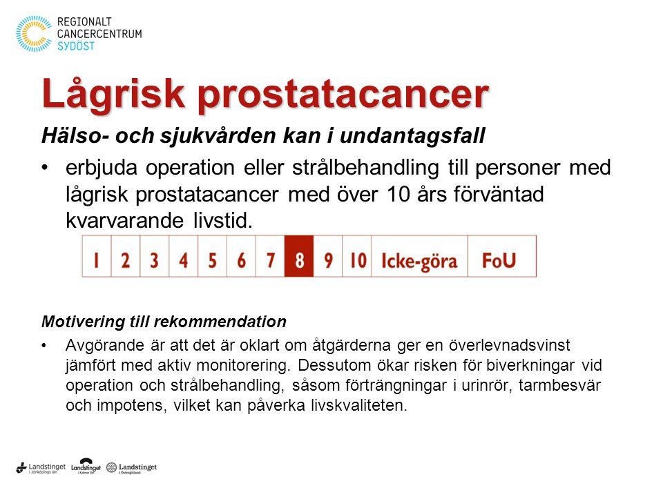Lågrisk prostatacancer