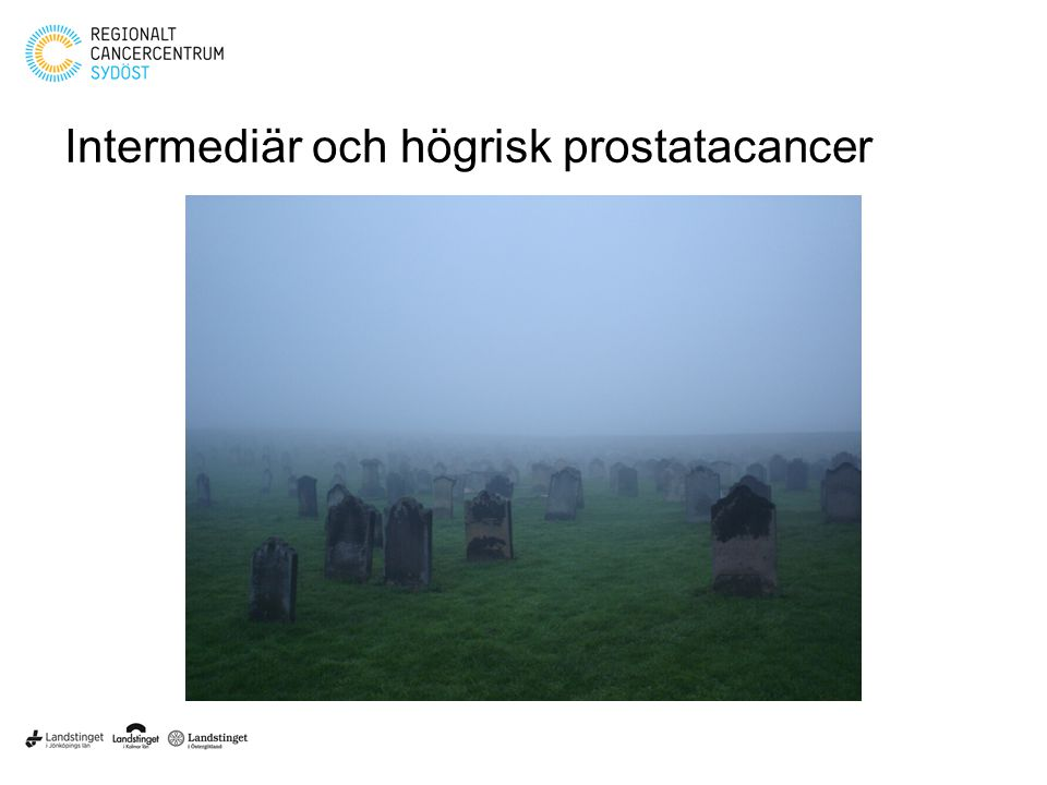 Intermediär och högrisk prostatacancer