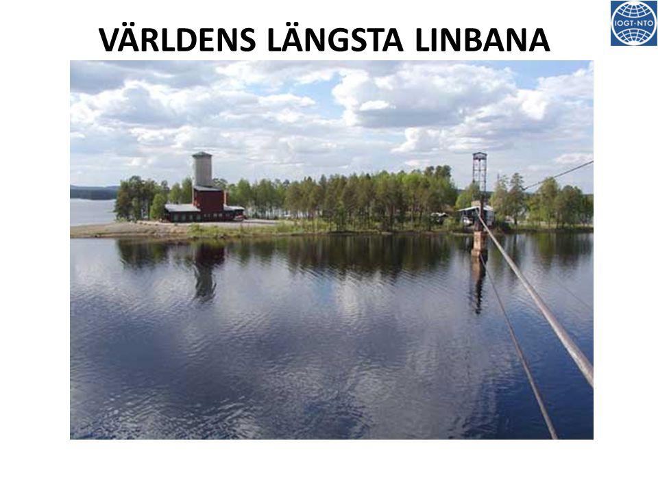VÄRLDENS LÄNGSTA LINBANA