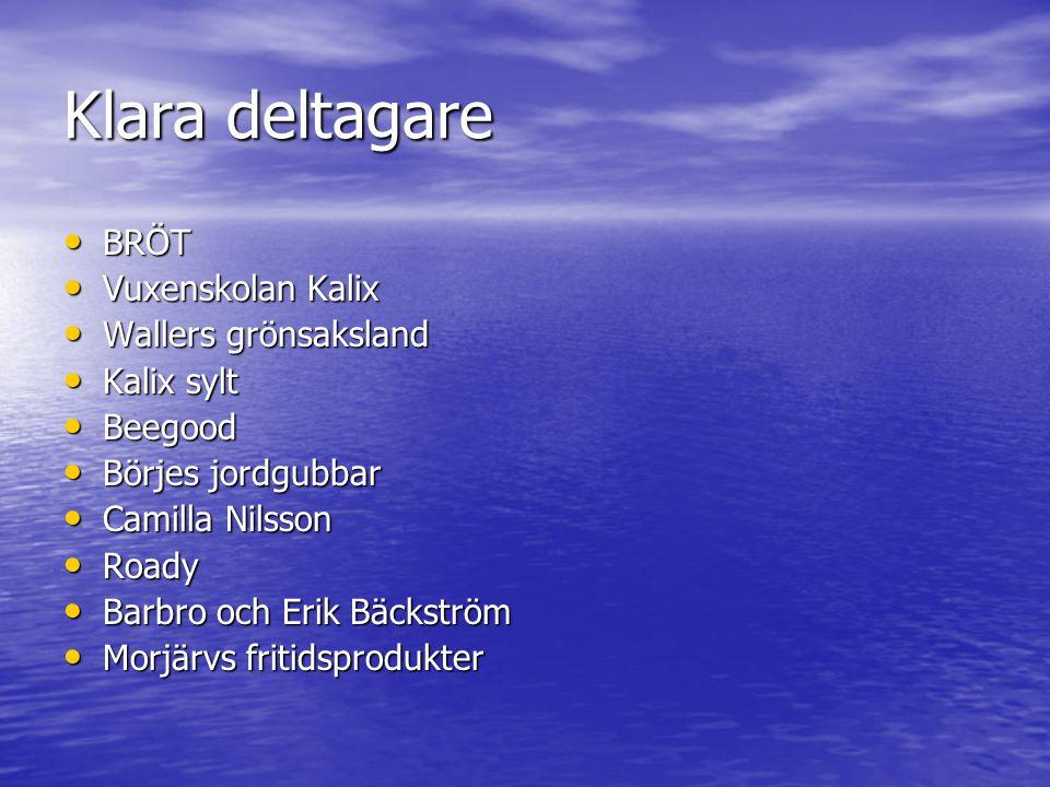 Klara deltagare BRÖT Vuxenskolan Kalix Wallers grönsaksland Kalix sylt