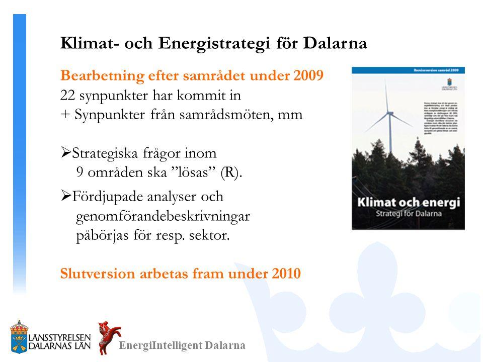 Klimat- och Energistrategi för Dalarna