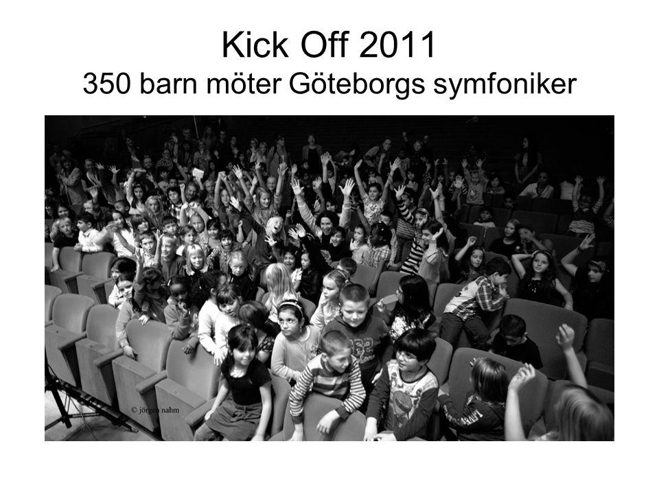 Kick Off 2011 350 barn möter Göteborgs symfoniker