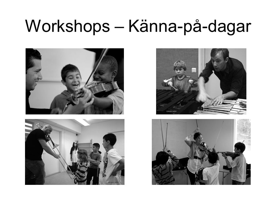 Workshops – Känna-på-dagar