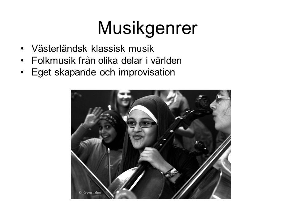 Musikgenrer Västerländsk klassisk musik