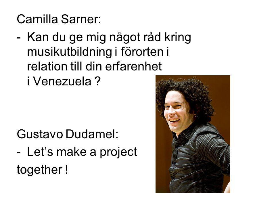Camilla Sarner: