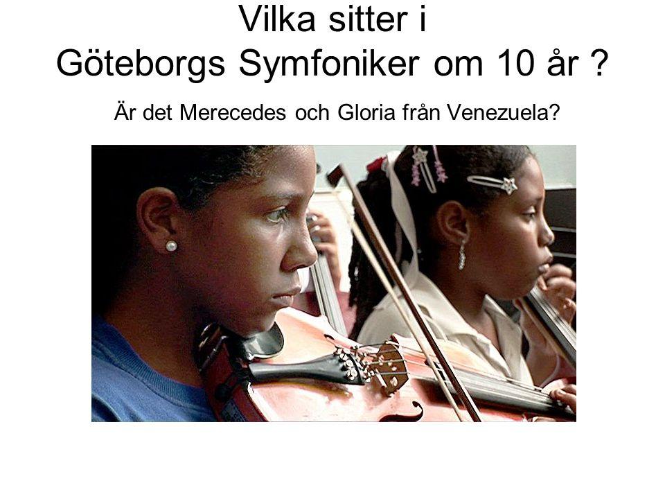 Vilka sitter i Göteborgs Symfoniker om 10 år