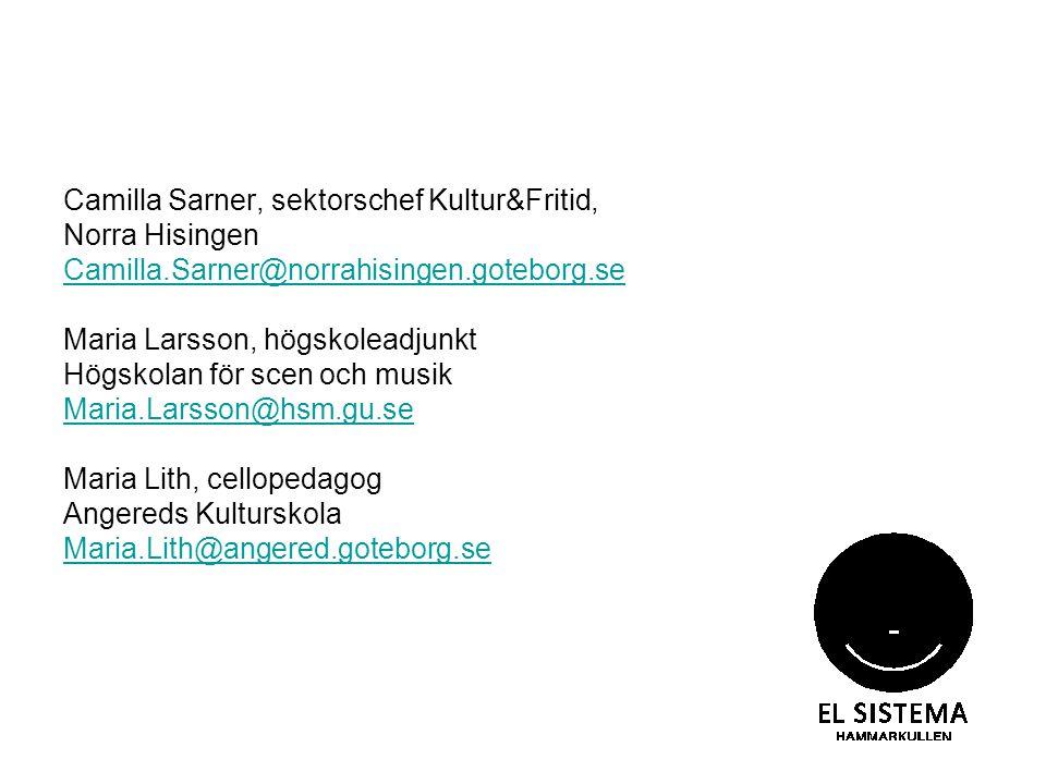 Camilla Sarner, sektorschef Kultur&Fritid,