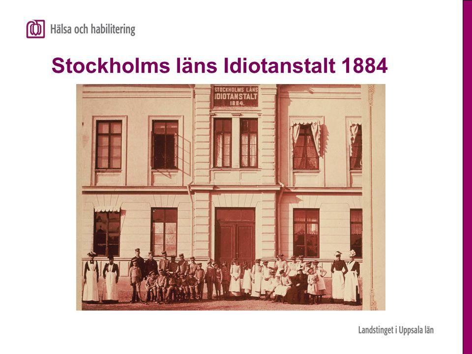 Stockholms läns Idiotanstalt 1884