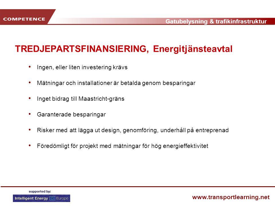 TREDJEPARTSFINANSIERING, Energitjänsteavtal
