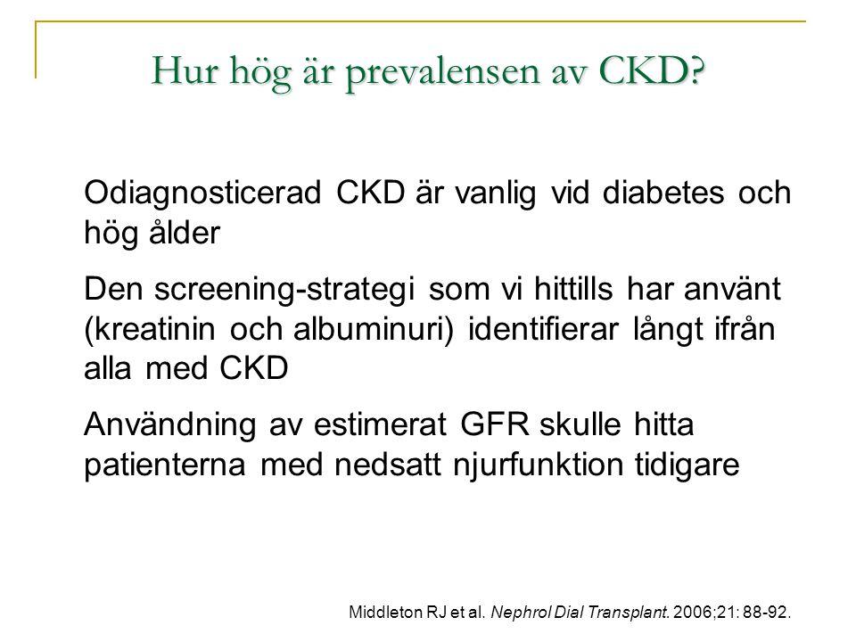 Hur hög är prevalensen av CKD