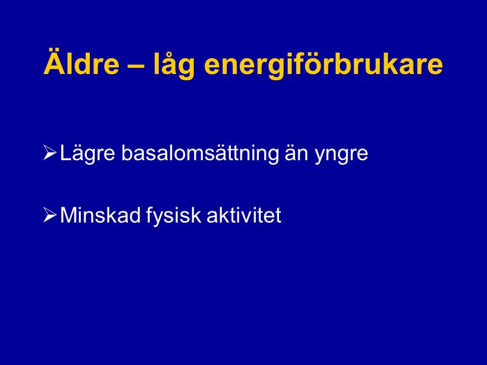 Äldre – låg energiförbrukare