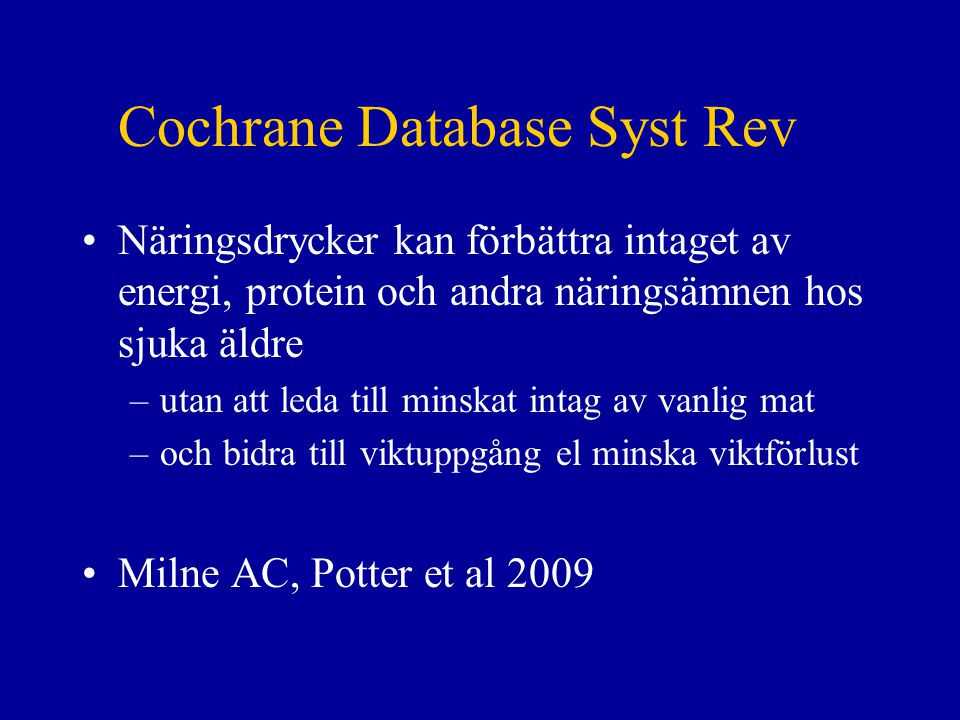 Cochrane Database Syst Rev