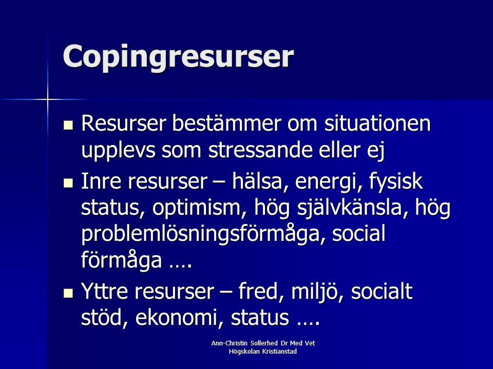 Ann-Christin Sollerhed Dr Med Vet Högskolan Kristianstad