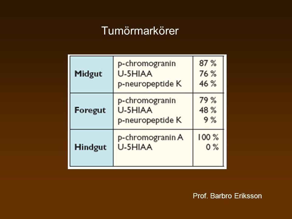 Tumörmarkörer Prof. Barbro Eriksson