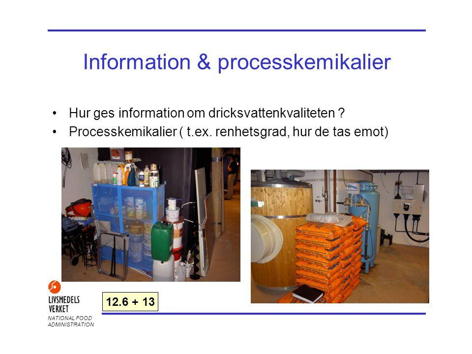 Information & processkemikalier