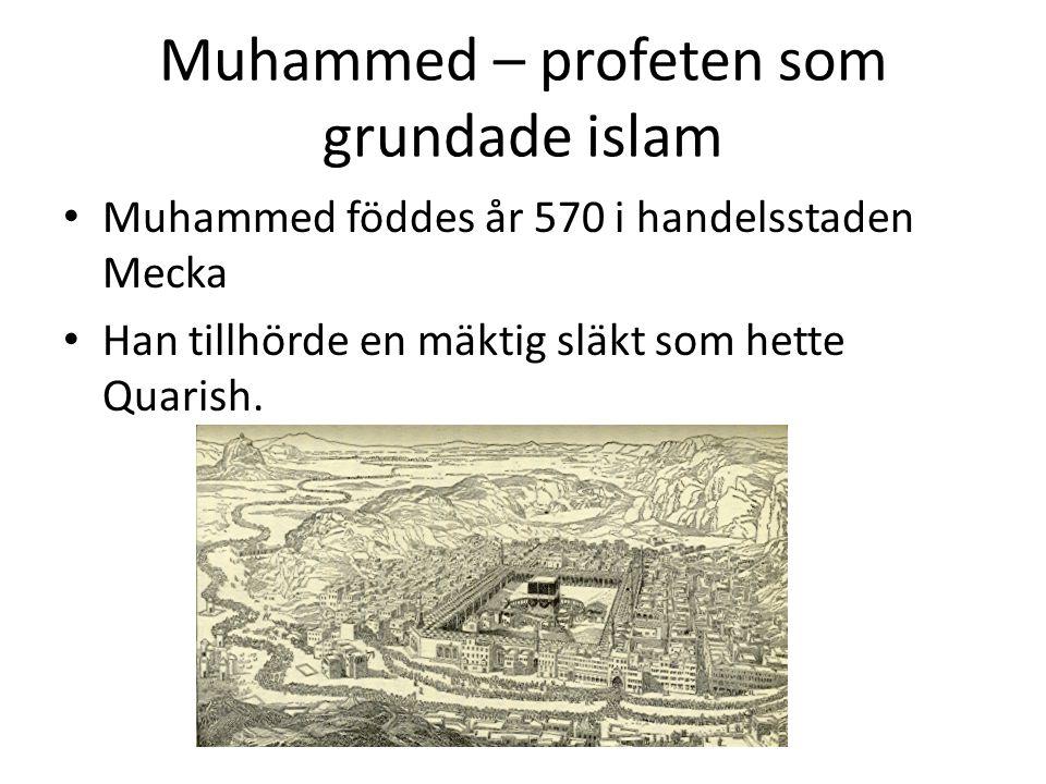Muhammed – profeten som grundade islam