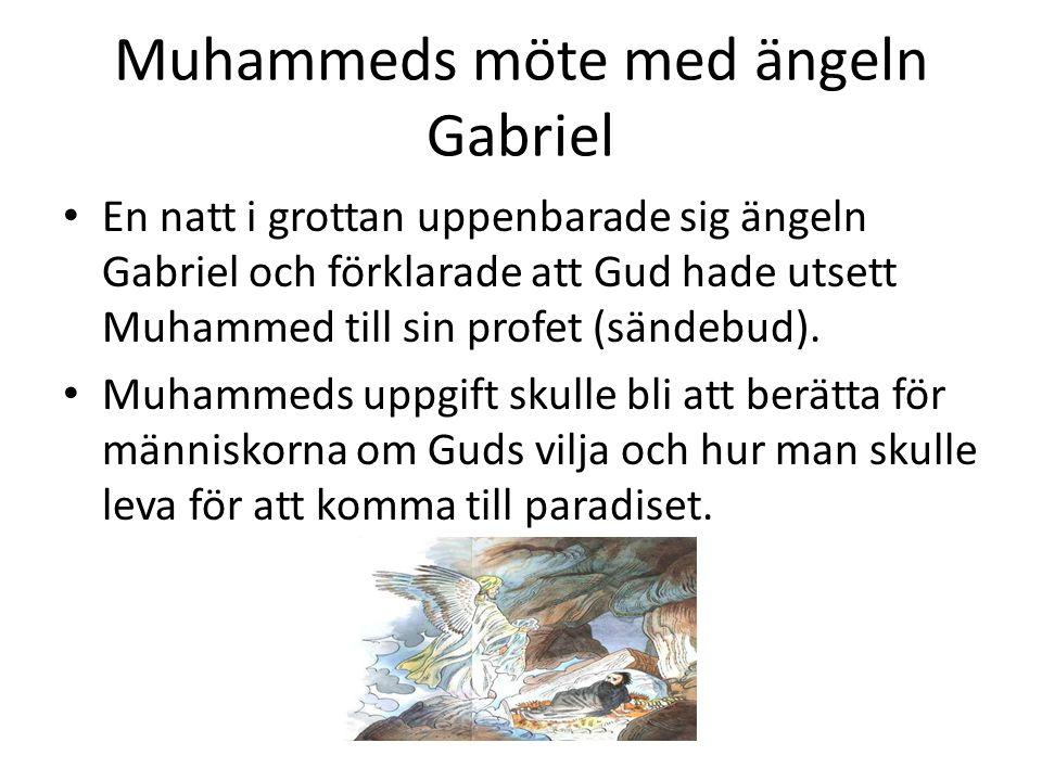 Muhammeds möte med ängeln Gabriel